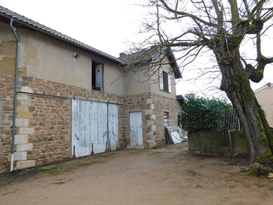 vente maison LANCIE 69220 MAISON A AMÉNAGER