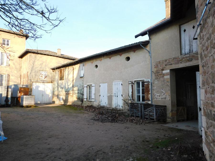 vente appartement LANCIE 69220 PLATEAU A AMÉNAGER EN APPARTEMENT